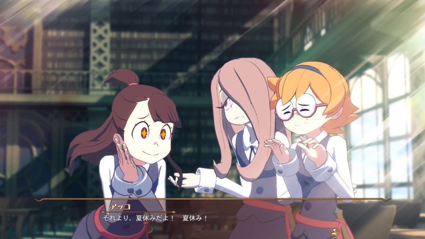 Little Witch Academia The Witch of Time and the Seven Wonders Updated Screenshots 01