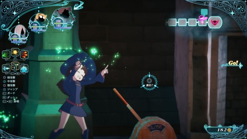 Little Witch Academia The Witch of Time and the Seven Wonders Updated Screenshots 06