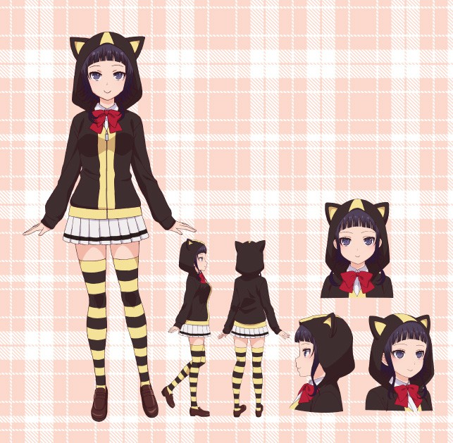 My-Girlfriend-Is-ShoBitch-Anime-Character-Designs-Kanata-Shinozaki