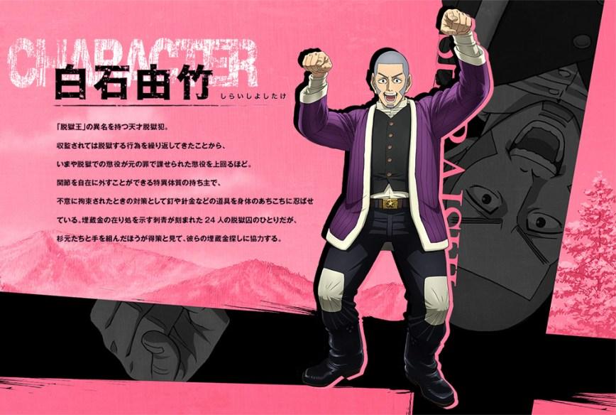 Golden-Kamuy-TV-Anime-Character-Designs-Yoshitake-Shiraishi