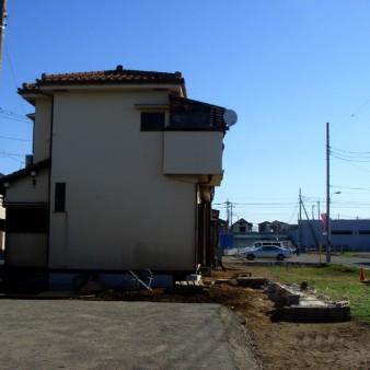 9:曳家工事 新設基礎に定着