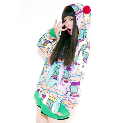 galaxxxy Game Center hoodie