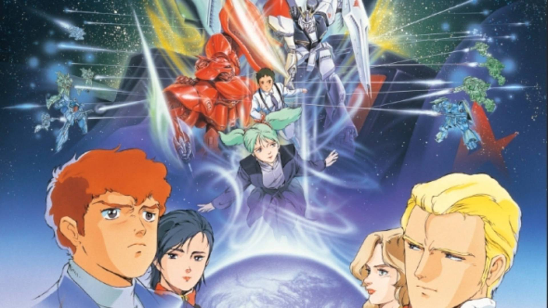 Mobile Suit Gundam Char S Counterattack Gundam F91 Ghost In The Shell To Receive 4k Uhd Remasters
