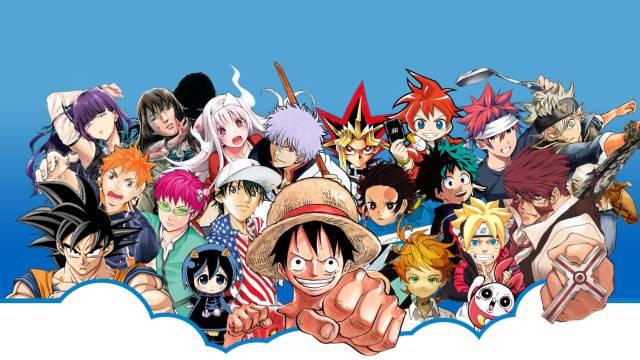 Shueisha manga characters