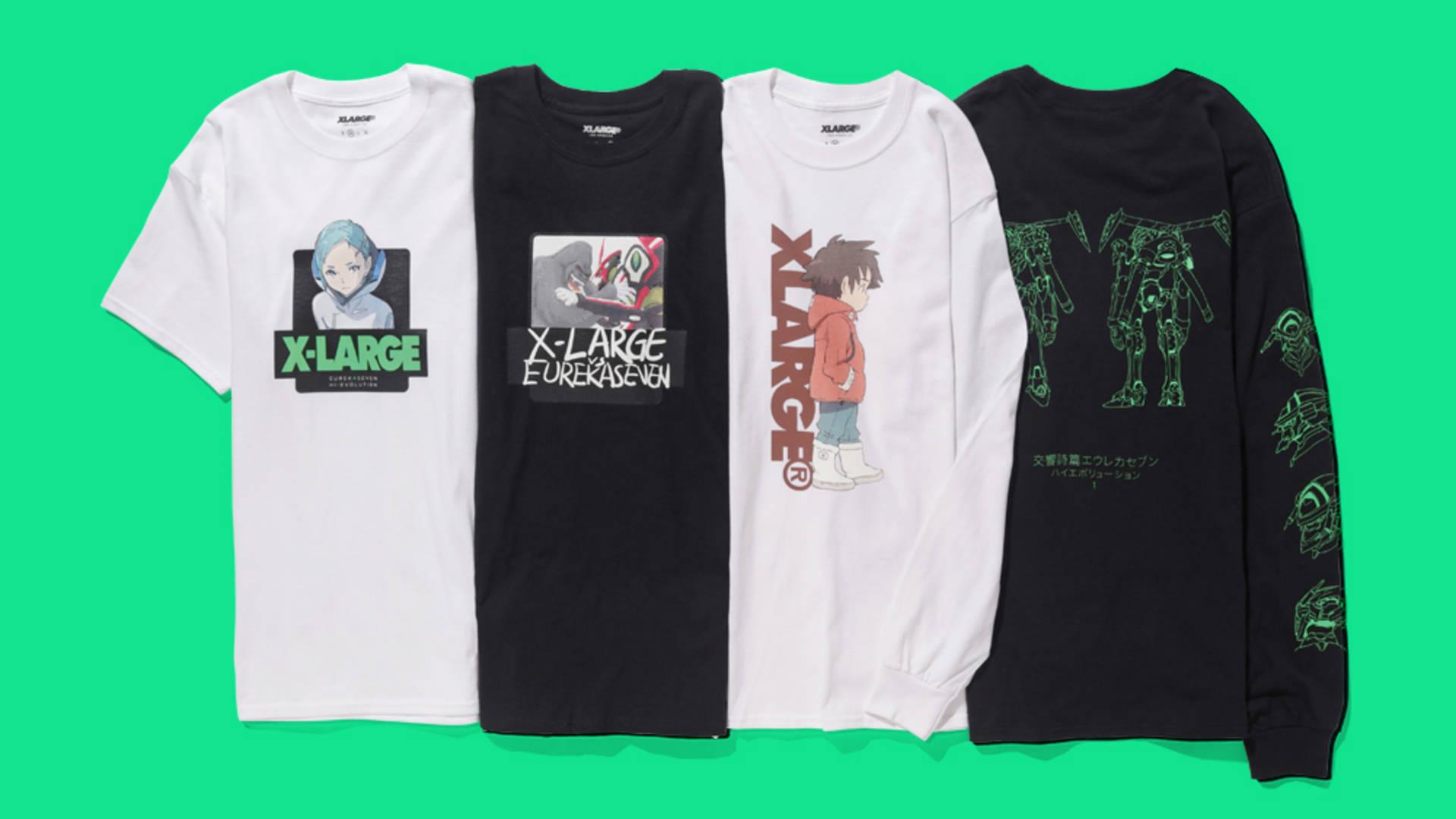 eureka seven shirt anime