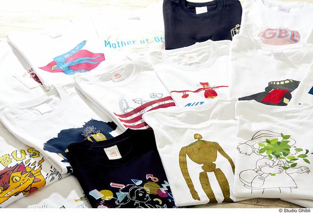 New Ghibli Shirts