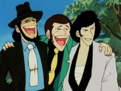 Lupin, Jigen, Goemon