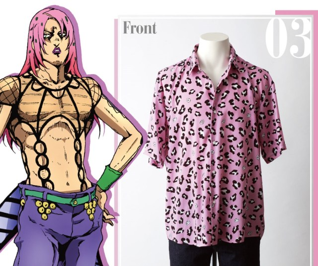 New 'JoJo's Bizarre Adventure: Golden Wind' Shirts Spell Journey's End for Bucciarati and the Gang