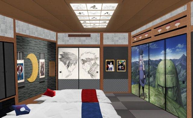 Fuji-Q Naruto Hotel Room