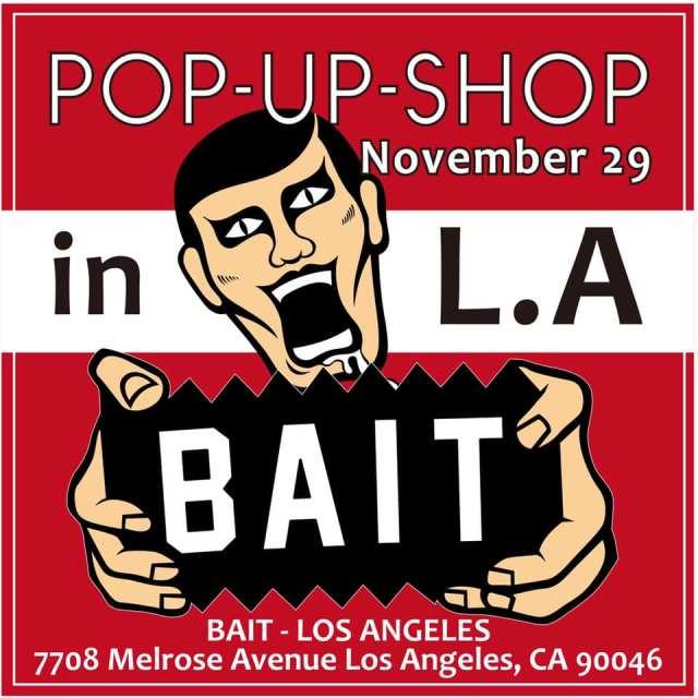PUNK DRUNKERS x BAIT Pop-Up Shop