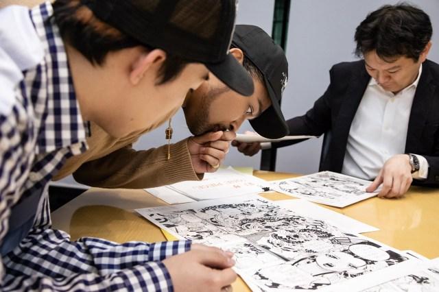 EXILE SEKAI, EXILE NESMITH, and Hiroyuki Nakano