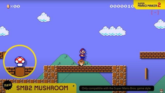 Super Mario Bros. 2 Mushroom