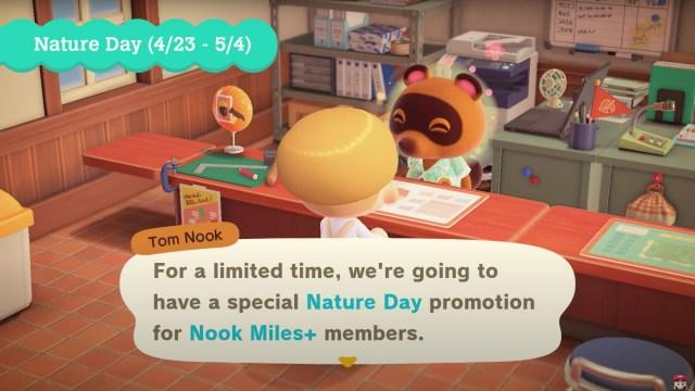Animal Crossing: New Horizons - Nature Day