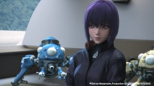 Ghost In The Shell: SAC_2045 Tachikoma & Makoto Kusanagi