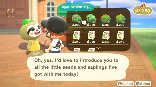 Animal Crossing: New Horizons Lief