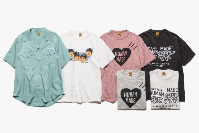 Trendy Shirts from Human Made to Steal the Show