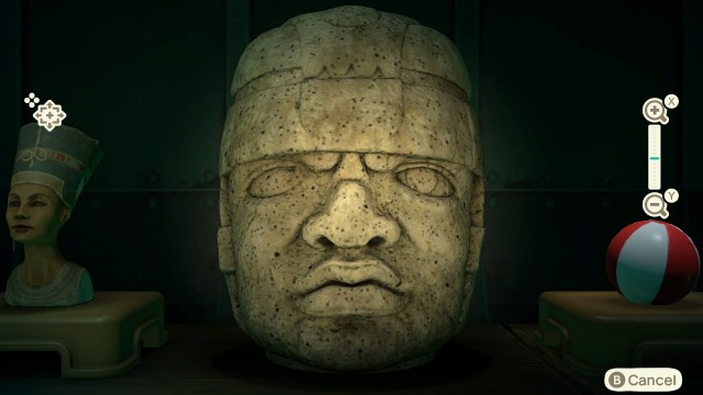 Animal Crossing: New Horizons - Rock-head Statue (real)
