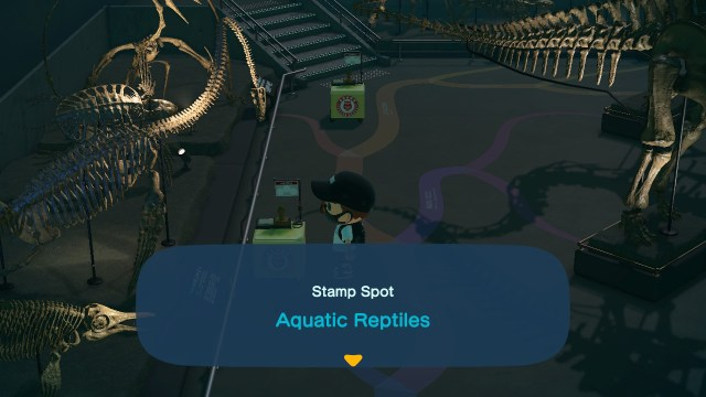 Animal Crossing: New Horizons Stamp Rally: Aquatic Reptiles Stamp Station