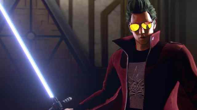 No More Heroes 3 Gameplay Footage Sneakily Previewed
