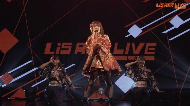 Maaya Uchida at LisAni! LIVE