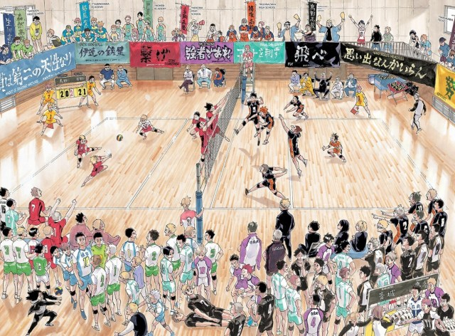 Haikyu ending manga illustration