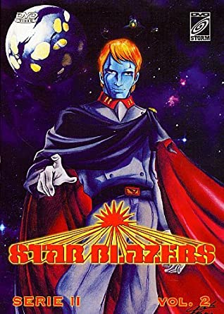 Cover of the Italian DVD for Starblazers vol. 2, aka Space Battleship Yamato