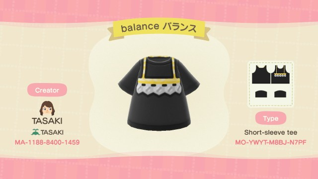 Balance Necklace Shirt