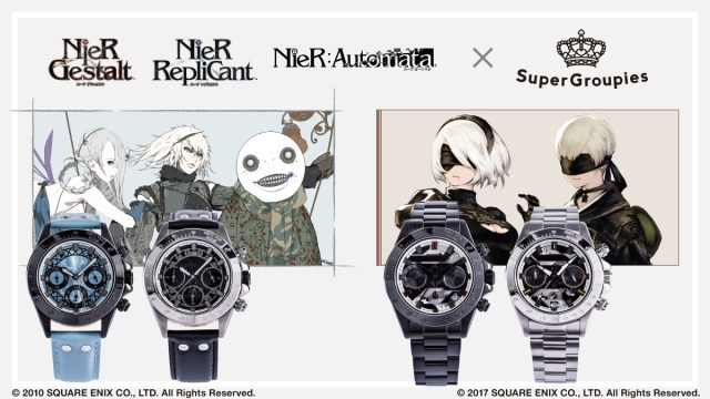 Supergroupies Unveils Line of NieR and NieR Automata Watches and Accessories