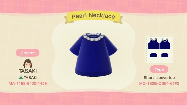 Pearl Necklace shirt
