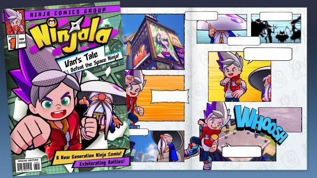 Ninjala Manga
