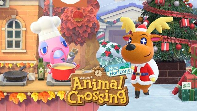 Screenshot Animal Crossing: New Horizons Winter Update