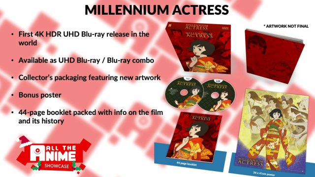 UK to Get World's First 4K UHD Blu-Ray Release of Satoshi Kon's Millennium Actress