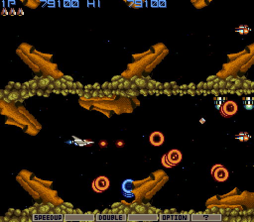 Gradius Gameplay