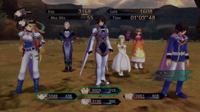 Tales of Xilia Gameplay