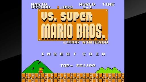 Vs Super Mario Bros