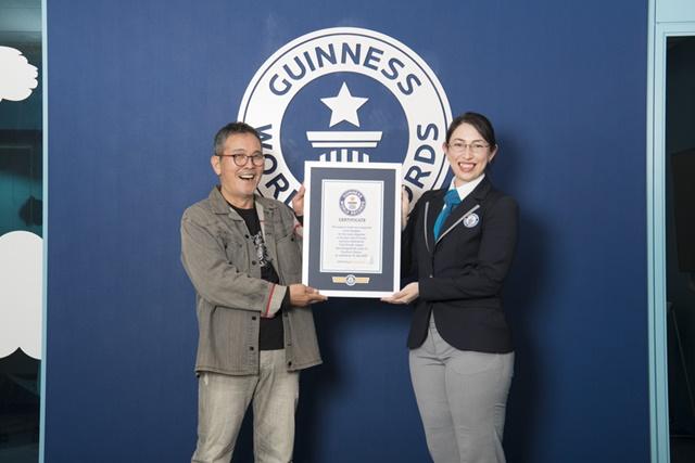 Tariji Sasaki, CoroCoro Comic Guinness World Record