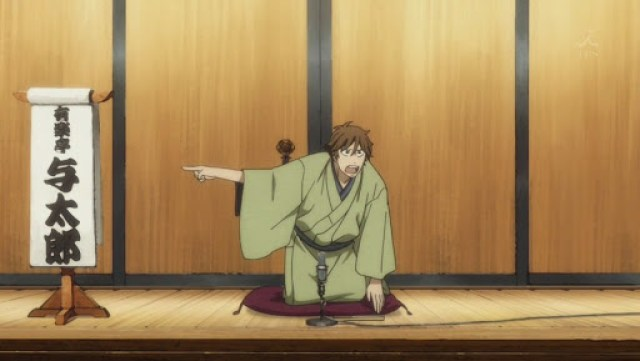 Rakugo anime series