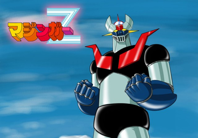 Mazinger Z anime visual