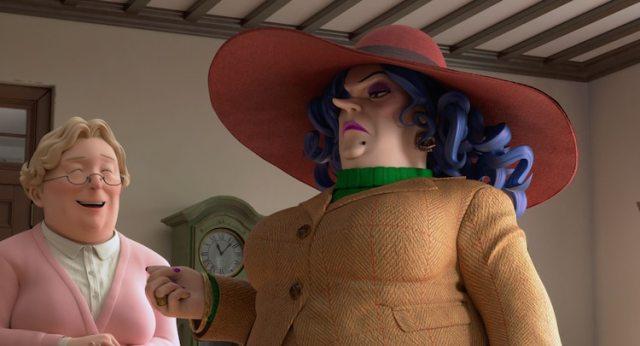 Earwig & The Witch (Aya to Majo) anime film screenshot