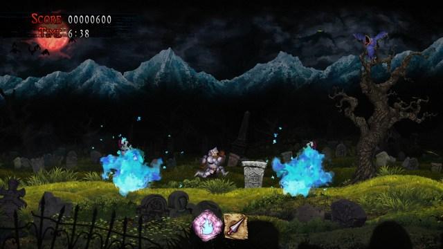 Ghosts 'n Goblins Resurrection Gameplay Sceenshot