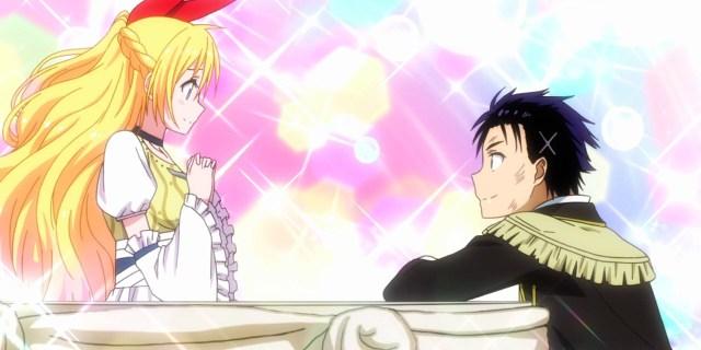 Screenshot from Nisekoi anime