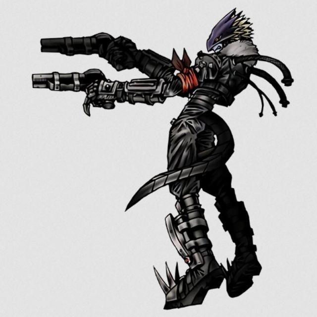 Beelzemon from Digimon