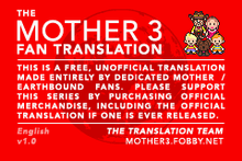 MOTHER 3 Fan Translation