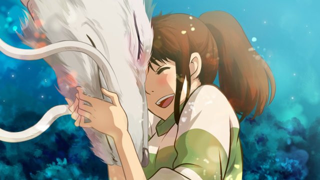Spirited Away anime movie