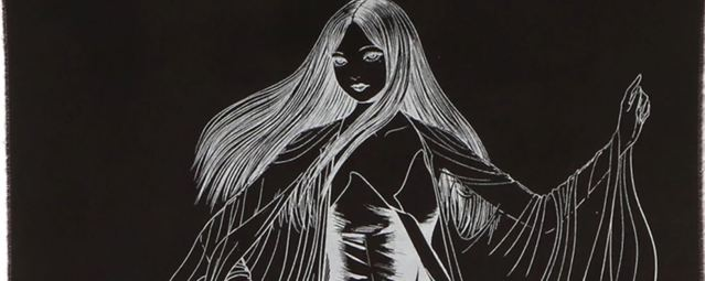 Junji Ito and Yohji Yamamoto Team Up Again for Tomie Themed Collab