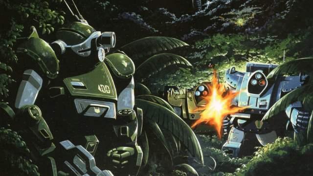 Armored Trooper Votoms Anime Illustration