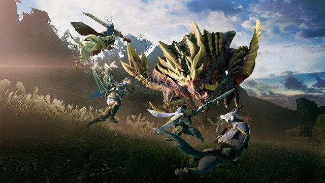 Monster Hunter Game Screenshot