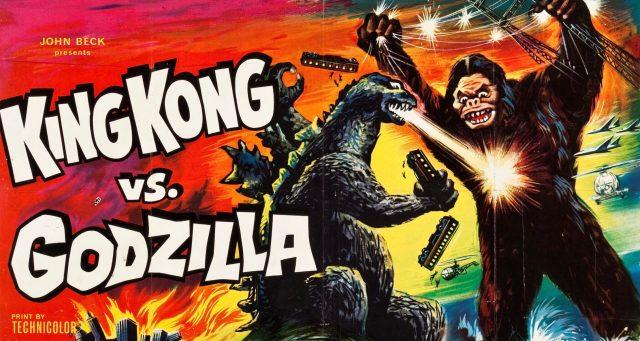 Kong Godzilla poster