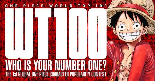 One Piece World Top 100 key visual