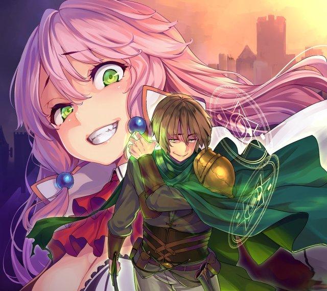 redo of the healer light novel cover